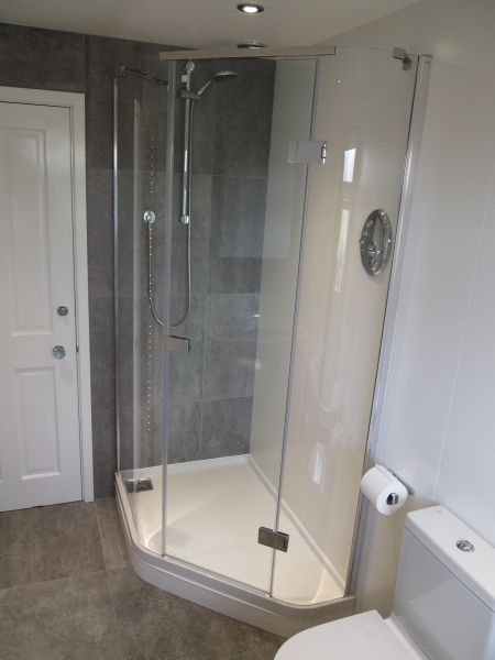 Shower Fitted In Nottingham By Rob Sharp Plumbing Solutions: Swipe To View More Images